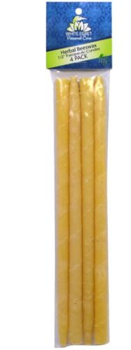 HERBAL BEESWAX AROMATHERAPY EAR CANDLES  4 CT