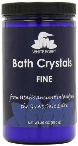 CRYSTAL BATH SALT  30 OZ