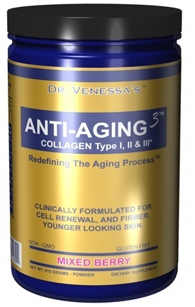 ANTI-AGING 3 COLLAGEN MIXED BERRY  600 GM
