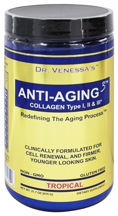 ANTI-AGING 3 COLLAGEN TROPICAL  600 GM