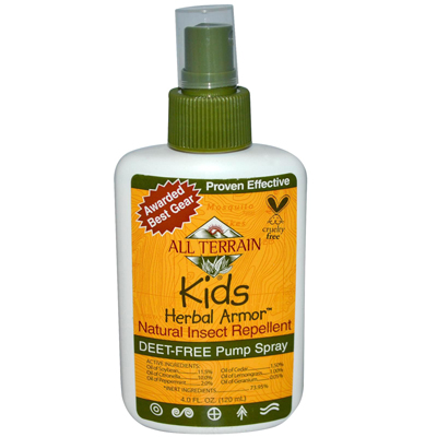 HERBAL ARMOR SPRAY,KIDS 4 OZ