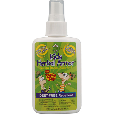 PHINEAS AND FERB KIDS HERBAL ARMOR INSECT REPELLENT  4 OZ