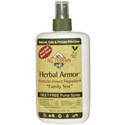 HERBAL ARMOR INSECT REPELLENT SPRAY, VALUE SIZE  8 OZ