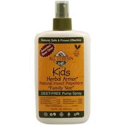 KIDS HERBAL ARMOR INSECT REPELLENT SPRAY-VALUE SIZE  8 OZ