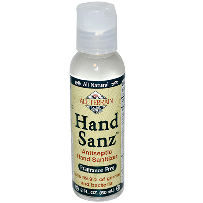 HAND SANZ,FRAGRANCE FREE 2 OZ
