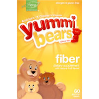 YUMMI BEAR FIBER SUPPLEMENT 60 BEARS