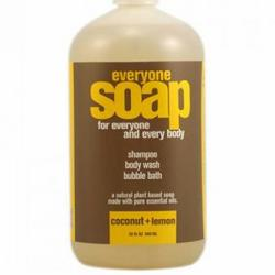 EVERYONE LIQUID SOAP COCONUT & LEMON  32 OZ
