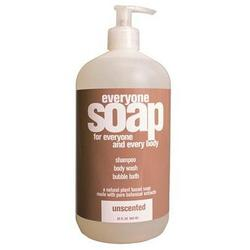 EVERYONE LIQUID SOAP UNSCENTED  32 OZ