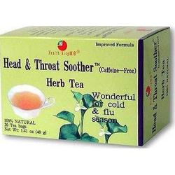 HEAD & THROAT SOOTHER TEA  20 BAG