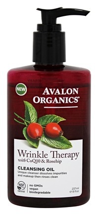 WRINKLE THERAPY CLEANSING OIL  8 OZ