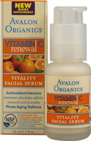 VITAMIN C VITALITY FACIAL SERUM  1 OZ