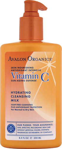 VITAMIN C HYDRATING CLEANSING MILK  8.5 OZ