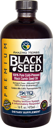 Premium Black Seed Oil  16 oz