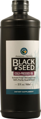 Premium Black Seed Oil  32 oz