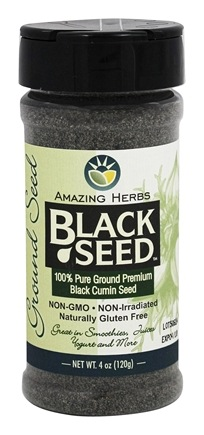 Black Seed Ground Seed  4 oz