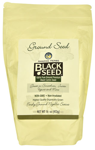 Black Seed Ground Seed  16 oz