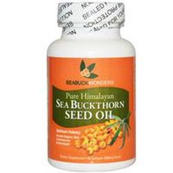 SEA BUCKTHORN SEED OIL (USDA ORGANIC)  60 SOFTGEL