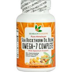 SEA BUCKTHORN OIL BLEND OMEGA 7 COMPLETE  120 SOFTGEL