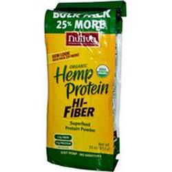 ORGANIC HEMP PROTEIN HIGH FIBER (BAG)  30 OZ