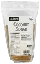 ORGANIC COCONUT SUGAR  16 OZ