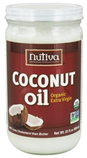 ORGANIC EXTRA-VIRGIN COCONUT OIL (GLASS JAR)  23 OZ