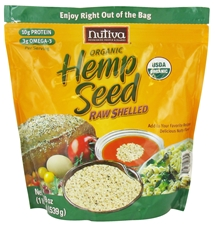 ORGANIC SHELLED HEMPSEED  19 OZ