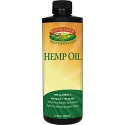 HEMP SEED OIL 12 OZ