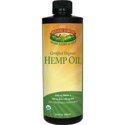 HEMP SEED OIL,OG 16 OZ