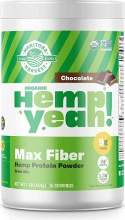 HEMP ORGANIC PROTEIN POWDER CHOCOLATE  16 OZ