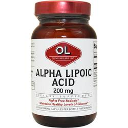 ALPHA LIPOIC ACID 200MG  60 CAP