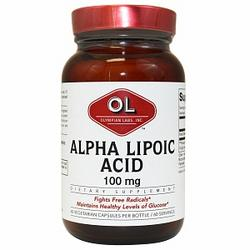 ALPHA LIPOIC ACID 100MG  60 CAP