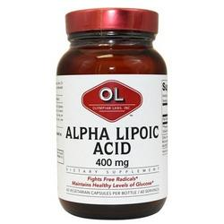ALPHA LIPOIC ACID 400MG  60 CAP
