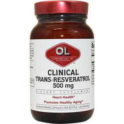 CLINICAL RESVERATROL EXTRA STRENGTH 500MG  30 CAP