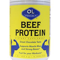 BEEF PROTEIN CHOCOLATE  1 LB