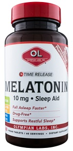 MELATONIN 10MG TIME RELEASE  60 TAB