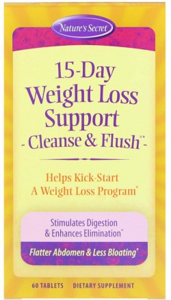 15-DAY WEIGHT LOSS, CLEANSE & FLUSH  60 TAB