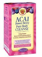 ACAI POWER BERRY PURE-BODY CLEANSE  56 TAB