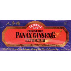 CHINESE RED PANAX GINSENG EXTRACTUM - VIALS  10 VIAL