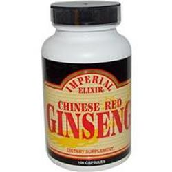 CHINESE RED GINSENG  100 CAPSULE