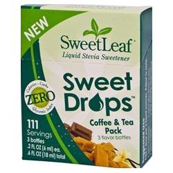 SWEET DROPS COFFEE & TEA PACK  3 CT