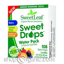 SWEET DROPS WATER PACK  3 CT