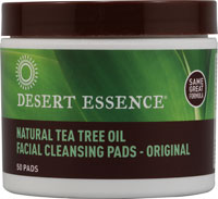 CLEANSING PADS,TEA TREE 50 PADS