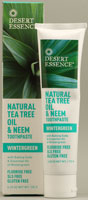 TEA TREE NEEM TPST,WINTGN 7 OZ