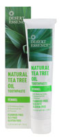 TEA TREE TPST W/FENNL&PRP 7 OZ