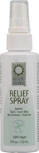 TEA TREE RELIEF SPRAY 4 OZ