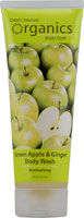BODY WASH GREEN APPLE & GINGER 8 OZ