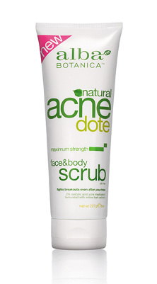 ANCEDOTE FACE&BODY SCRUB 8 OZ