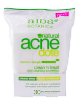ACNEDOTE CLEAN & TREAT TOWELETTE  30 CT