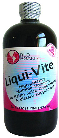 LIQUI-VITE ADULT MULTIPLE  16 OZ