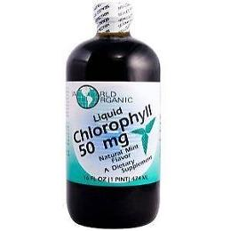 CHLOROPHYLL 50MG W/PEPPERMINT LIQUID  16 OZ